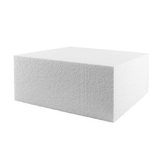 FOAM DUMMY | 14 INCH | SQUARE | 4 INCH HIGH
