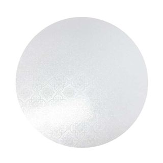 CAKE BOARD | WHITE | 15 INCH | ROUND | MDF | 6MM THICK