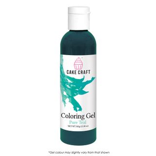 CAKE CRAFT | COLOURING GEL | PURE TEAL | 385G