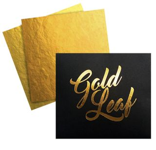 CAKE CRAFT | EDIBLE 24K GOLD LEAF | 5 SHEETS