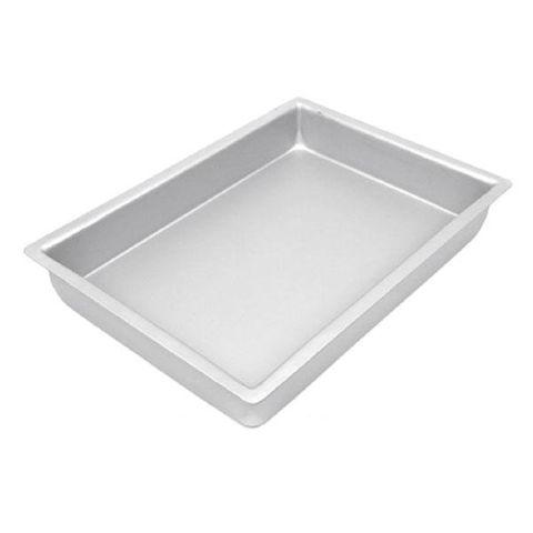 CAKE PAN/TIN   9 x 12 INCH   RECTANGLE   3 INCH DEEP