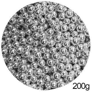 CACHOUS/BALLS | SILVER | 8MM | SPRINKLES | 200G