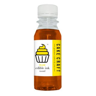 CAKE CRAFT | CANON EDIBLE INK REFILL BOTTLE | YELLOW | 100ML