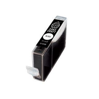 CAKE CRAFT | CANON CLI-651BK | EDIBLE INK REFILL CARTRIDGE | BLACK | 14ML
