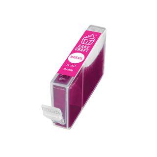 CAKE CRAFT | CANON CLI-651M | EDIBLE INK REFILL CARTRIDGE | MAGENTA | 14ML