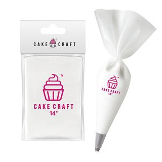 CAKE CRAFT   COTTON PASTRY/PIPING BAG   14 INCH