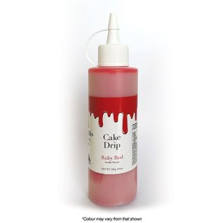 CAKE CRAFT   CAKE DRIP   RUBY RED   250G