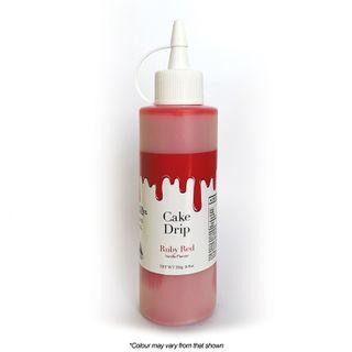 CAKE CRAFT | CAKE DRIP | RUBY RED | 250G