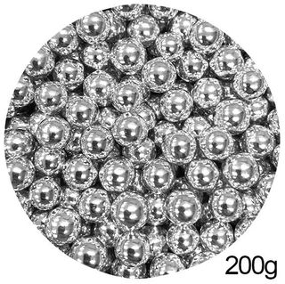 CACHOUS/BALLS | SILVER | 10MM | SPRINKLES | 200G