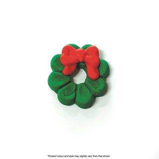 CAKE CRAFT | CHRISTMAS WREATH | SUGAR DECORATIONS