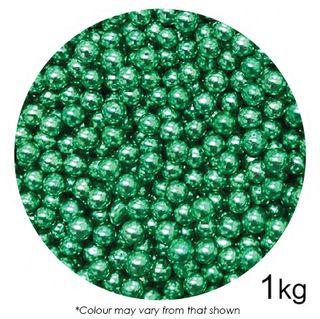 SPRINK'D | CACHOUS/BALLS | 6MM | METALLIC GREEN | 1KG