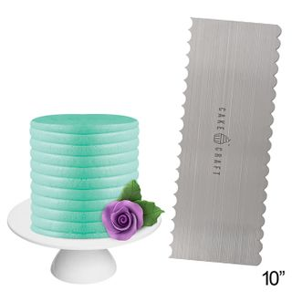 CAKE CRAFT | BUTTERCREAM COMB | CURVES | 10 INCH