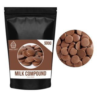 CAKE CRAFT | MILK COMPOUND CHOCOLATE BUTTONS | 500G