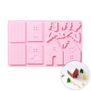 GINGERBREAD HOUSE | SILICONE MOULD