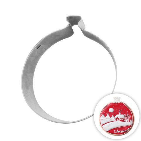 BAUBLE   COOKIE CUTTER