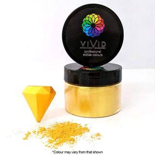 VIVID   SUPER GOLD   EDIBLE METALLIC DUST   50G
