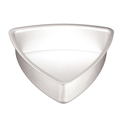 CONVEX TRIANGLE CAKE PAN 12 INCH