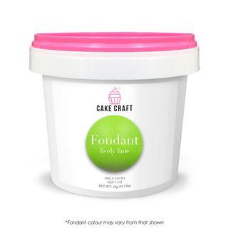 CAKE CRAFT | FONDANT | LIVELY LIME | 1KG