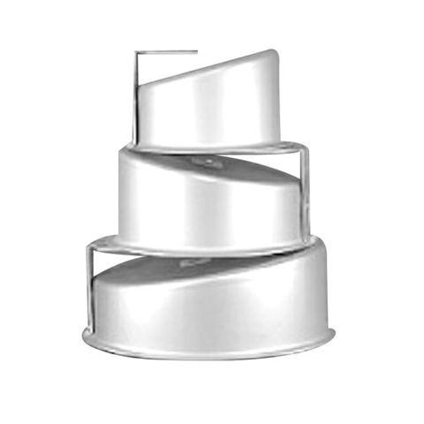 CAKE PAN/TIN   ROUND   MAD HATTER SET OF 5   6-8-10-12-14 INCH