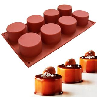 MINI CYLINDER SILICONE MOULD