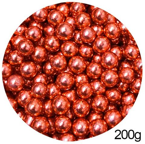 CACHOUS/BALLS | RED | 10MM | SPRINKLES | 200G