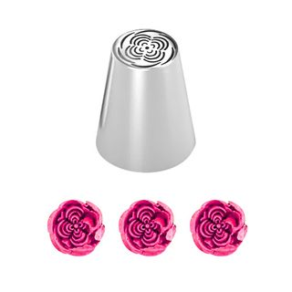 CAKE CRAFT | BOLERO FLORIBUNDA ROSE | RUSSIAN PIPING TIP | 36MM