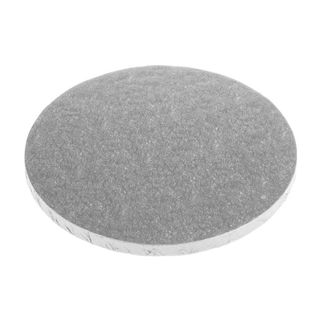 CAKE BOARD | SILVER | 10 INCH | ROUND | MDF | 15MM THICK