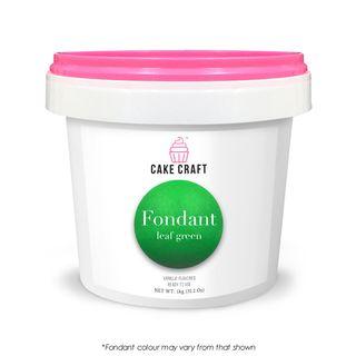 CAKE CRAFT | FONDANT | LEAF GREEN | 1KG