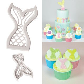MERMAID TAILS | COOKIE CUTTER | 2 PIECE