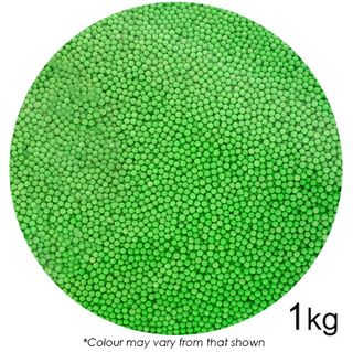 SPRINK'D | SUGAR BALLS | GREEN | 2MM | 1KG