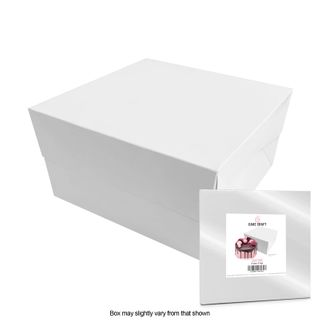 CAKE CRAFT | 8X8X5 INCH CAKE BOX | RETAIL PACK