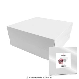 CAKE CRAFT | 14X14X6 INCH CAKE BOX | RETAIL PACK