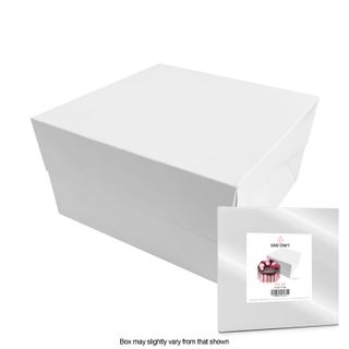 CAKE CRAFT | 9X9X5 INCH CAKE BOX | RETAIL PACK