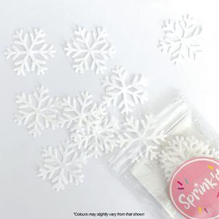 SPRINK'D | SNOWFLAKE | WAFER SPRINKLES