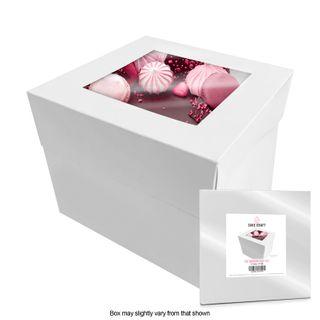 CAKE CRAFT | 12X12X12 INCH CAKE BOX | RETAIL PACK