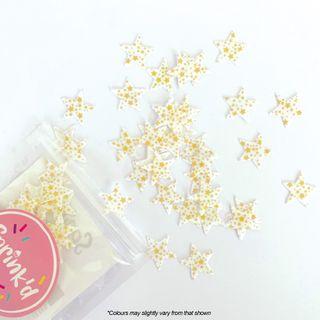 SPRINK'D | GOLD STARS | WAFER SPRINKLES