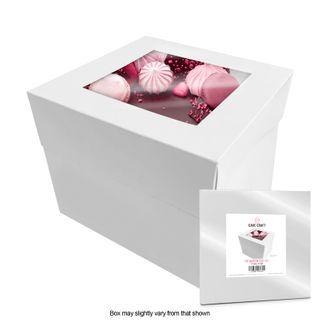 CAKE CRAFT | 10X10X10 INCH CAKE BOX | RETAIL PACK