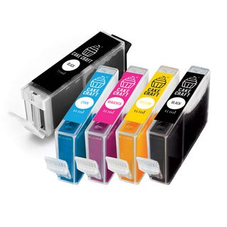 CAKE CRAFT | CANON PGI-680/CLI-681 | EDIBLE INK REFILL CARTRIDGES | SET 5