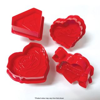 LOVE 4 | PLUNGER CUTTERS | 4 PIECES