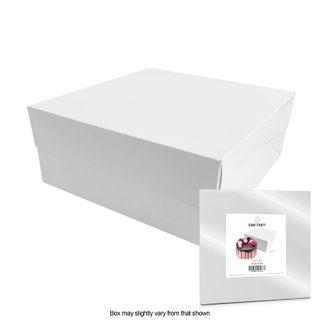 CAKE CRAFT   13X13X6 INCH CAKE BOX   RETAIL PACK