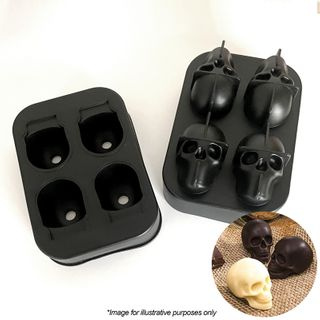 FOUR SKULL   SILICONE MOULD