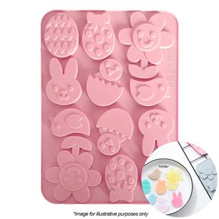 EASTER FLOWER ASSORTED | SILICONE MOULD