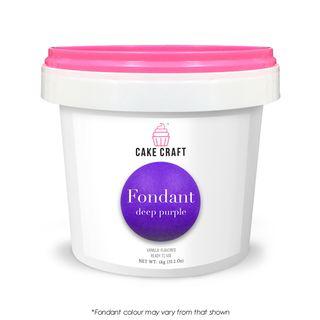 CAKE CRAFT | FONDANT | DEEP PURPLE | 1KG