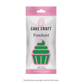 CAKE CRAFT | FONDANT | LEAF GREEN | 250G