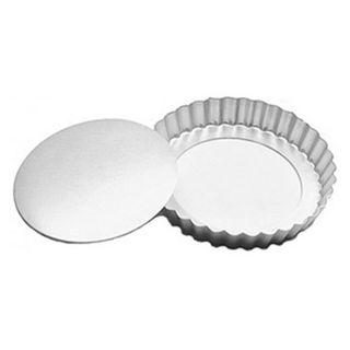 CAKE PAN/TIN | 9.5 INCH | FLUTED TART | 1 INCH DEEP