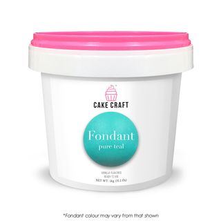 CAKE CRAFT | FONDANT | PURE TEAL | 1KG