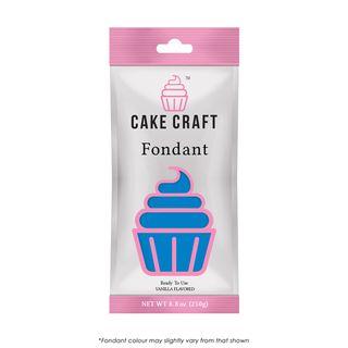 CAKE CRAFT | FONDANT | ELECTRIC BLUE | 250G