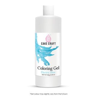 CAKE CRAFT | COLOURING GEL | ELECTRIC BLUE | 385G