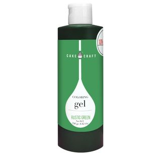 CAKE CRAFT   COLOURING GEL   RUSTIC GREEN   385G