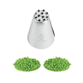 CAKE CRAFT | #233 GRASS | PIPING TIP | STAINLESS STEEL